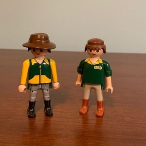 Playmobil zookeepers